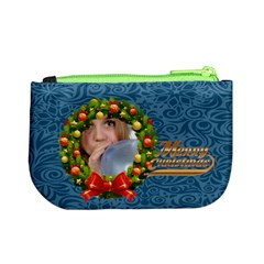 Merry Christmas By M Jan   Mini Coin Purse   K9kh96yn2ny8   Www Artscow Com Back