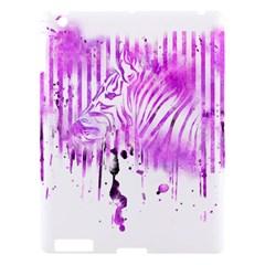 The Hidden Zebra Apple Ipad 3/4 Hardshell Case by doodlelabel