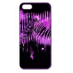 The Hidden Zebra Apple Seamless Iphone 5 Case (color) by doodlelabel