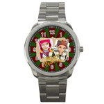 merry christmas - Sport Metal Watch