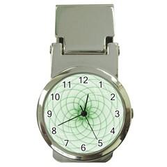 Spirograph Money Clip With Watch by Siebenhuehner