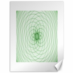 Spirograph Canvas 36  X 48  (unframed) by Siebenhuehner