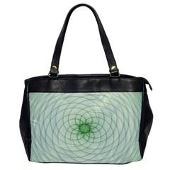 Spirograph Oversize Office Handbag (one Side) by Siebenhuehner