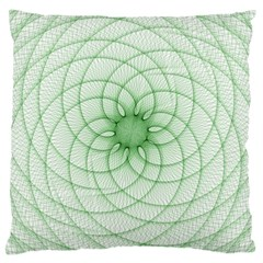 Spirograph Large Cushion Case (two Sided)  by Siebenhuehner
