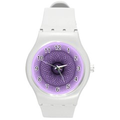 Mandala Plastic Sport Watch (medium) by Siebenhuehner