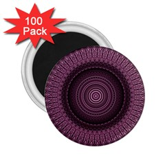Mandala 2 25  Button Magnet (100 Pack) by Siebenhuehner