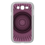 Mandala Samsung Galaxy Grand DUOS I9082 Case (White) Front