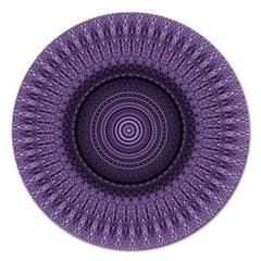 Mandala Magnet 5  (round) by Siebenhuehner