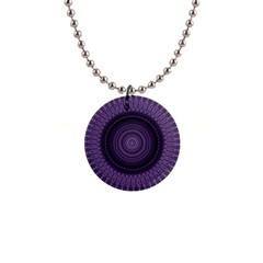 Mandala Button Necklace