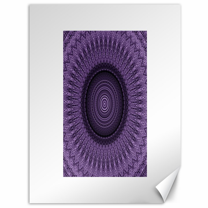 Mandala Canvas 36  x 48  (Unframed)