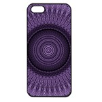 Mandala Apple iPhone 5 Seamless Case (Black) Front