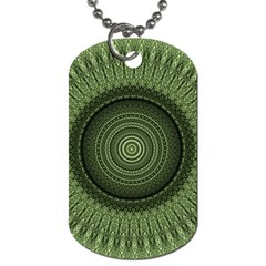 Mandala Dog Tag (one Sided) by Siebenhuehner