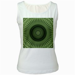Mandala Womens  Tank Top (white) by Siebenhuehner