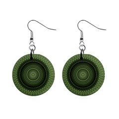 Mandala Mini Button Earrings by Siebenhuehner