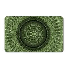 Mandala Magnet (rectangular) by Siebenhuehner
