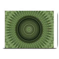 Mandala Large Door Mat by Siebenhuehner