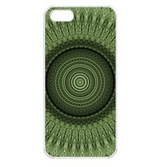 Mandala Apple Iphone 5 Seamless Case (white) by Siebenhuehner