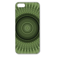 Mandala Apple Seamless Iphone 5 Case (clear) by Siebenhuehner