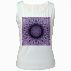 Mandala Womens  Tank Top (white) by Siebenhuehner
