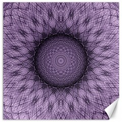 Mandala Canvas 12  X 12  (unframed) by Siebenhuehner