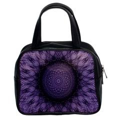 Mandala Classic Handbag (two Sides) by Siebenhuehner
