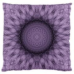 Mandala Large Cushion Case (single Sided)  by Siebenhuehner