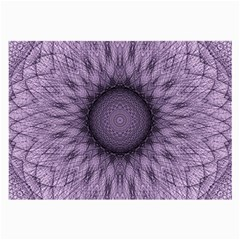 Mandala Glasses Cloth (large, Two Sided) by Siebenhuehner