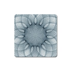 Mandala Magnet (square) by Siebenhuehner