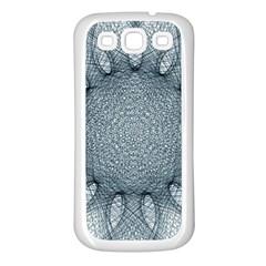 Mandala Samsung Galaxy S3 Back Case (white) by Siebenhuehner