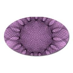 Mandala Magnet (oval) by Siebenhuehner