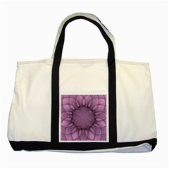 Mandala Two Toned Tote Bag by Siebenhuehner