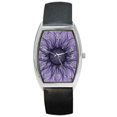 Mandala Tonneau Leather Watch by Siebenhuehner