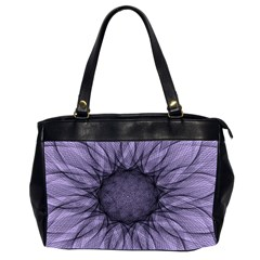 Mandala Oversize Office Handbag (two Sides) by Siebenhuehner