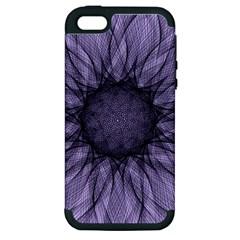 Mandala Apple Iphone 5 Hardshell Case (pc+silicone) by Siebenhuehner