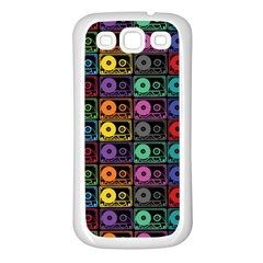 Music Case Samsung Galaxy S3 Back Case (white) by PaolAllen2