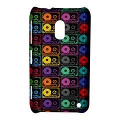 Music Case Nokia Lumia 620 Hardshell Case by PaolAllen2