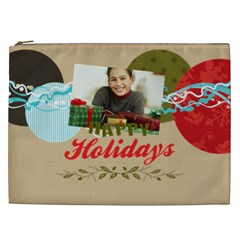 Merry Christmas By Merry Christmas   Cosmetic Bag (xxl)   Vfy95jtuc269   Www Artscow Com Front