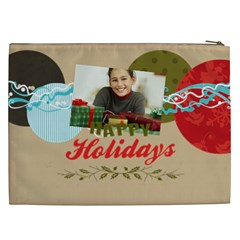 Merry Christmas By Merry Christmas   Cosmetic Bag (xxl)   Vfy95jtuc269   Www Artscow Com Back