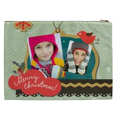 Merry Christmas By Merry Christmas   Cosmetic Bag (xxl)   I106iptva105   Www Artscow Com Back