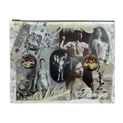 Tanya Bag By Amanda Fudge   Cosmetic Bag (xl)   Uqdqa1hpoakb   Www Artscow Com Front