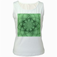 Spirograph Womens  Tank Top (white)