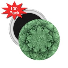 Spirograph 2 25  Button Magnet (100 Pack) by Siebenhuehner