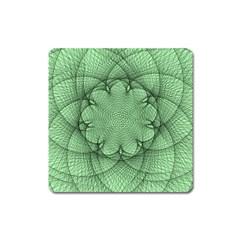 Spirograph Magnet (square) by Siebenhuehner