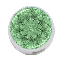 Spirograph 4 Port Usb Hub (one Side) by Siebenhuehner