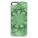Spirograph Apple iPhone 5 Case (Silver) Front
