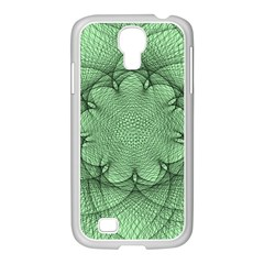 Spirograph Samsung Galaxy S4 I9500/ I9505 Case (white) by Siebenhuehner