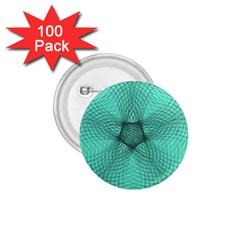 Spirograph 1 75  Button (100 Pack) by Siebenhuehner