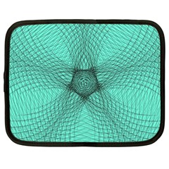 Spirograph Netbook Case (large) by Siebenhuehner