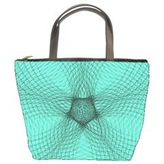 Spirograph Bucket Bag by Siebenhuehner