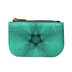 Spirograph Coin Change Purse by Siebenhuehner